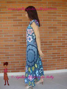 Vestido Maravilhoso  crochet dress