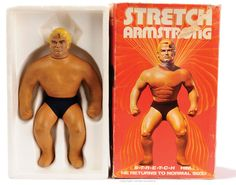 Stretch Armstrong- brian had one! Retro Toys, Vintage Toys, Stretch Armstrong, Old School Toys, Childhood Days, School Memories, Top Toys, My Youth, Tv Commercials