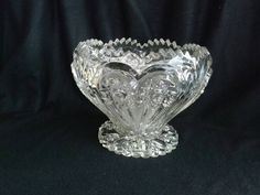 Check out this item in my Etsy shop https://www.etsy.com/listing/272834286/rare-antique-zipper-heart-punch-bowl-by