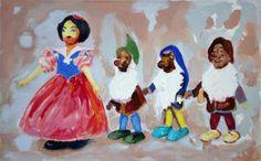Original Fantasy Painting by Wojtek Herman Oil On Canvas, Canvas Art, Original Art, Original Paintings, Fantasy Paintings, Orphan, Art Oil, Figurative Art, Buy Art