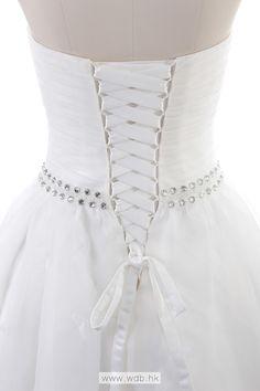 Strapless Ball Gown Net wedding dress $358.98