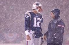 Nothing like football in the snow..the New England way!!!