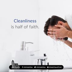 Islamic Quotes In English, English Quotes, Cleanliness Quotes, Peace Be Upon Him, Hadith, Quran, Board, Holy Quran, Planks