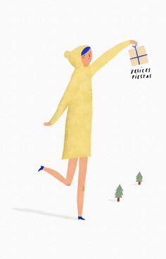 Feliz Navidad!! #illustration #merrychristmas #minimal #artist