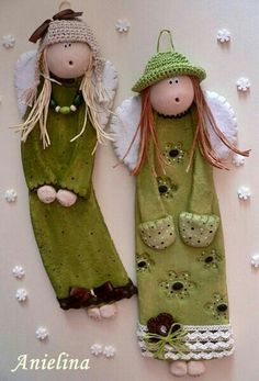 trying this with salt dough Angel Crafts, Christmas Crafts, Christmas Decorations, Christmas Ornaments, Homemade Christmas, Christmas Makes, Christmas Angels, Christmas Art, Pottery Angels