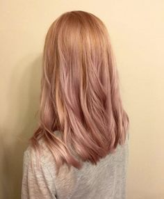 Rose gold blonde by Shannon Rothmann                                                                                                                                                                                 More