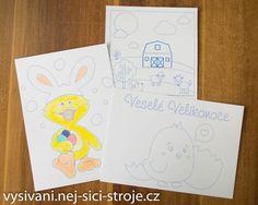 Článek - Velikonoční omalovánky - vyšívání, náš koníček