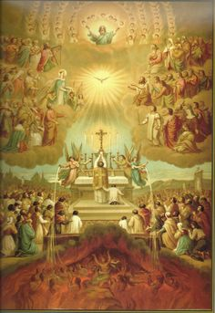 1 Cor 15, 10   -   The Trinity