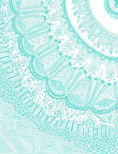 blue, pattern