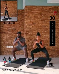 A full body HIIT workout — no equipment required Improve heart health, increase fat loss and strengthen and tone your muscles . Fitness Workouts, Full Body Hiit Workout, Hiit Workout At Home, Gym Workout Videos, Fitness Workout For Women, Body Fitness, Cardio Yoga, Tabata, Insanity Workout