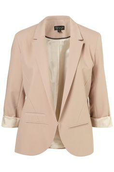 STRUCTURED BLAZER    Was $130.00  Now $70.00  Color: PINKY GREY  Item code: 17B25CPIG