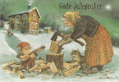 Gnome and Woodchopper Kjell Midthun
