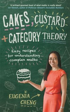 Book 51: Cakes, Custard and Category Theory (Eugenia Cheng). My rating: 4/5. A fun, illuminating tour of the role, value and limits of maths. (And cooking!) I wish I'd read this at the beginning of university when I started to lose sight of the value and beauty of maths, as Eugenia helps you understand why it's worth moving past the frustrations. But the content on category theory almost felt out of place, or that it deserved a book of its own. In all, though, a great read for anyone who…