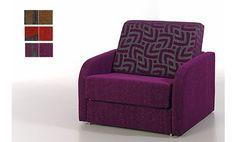 Shiito le presenta este estupendo sillón-cama de una plaza, con el que podrá alojar cómodamente a sus invitados, y que gracias a su sistema de apertura podrá abrir y cerrar con total facilidad. Además podrá elegir entre tres fabulosas combinaciones de tela.