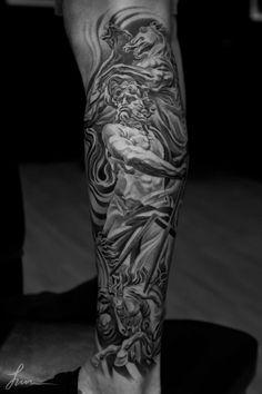 Jun Cha - Neptune leg piece
