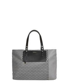 ABETE Tote bag di saffiano stampato | MAX&Co. Online Shop