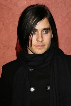 Jared Leto (long black hair and eyeliner)