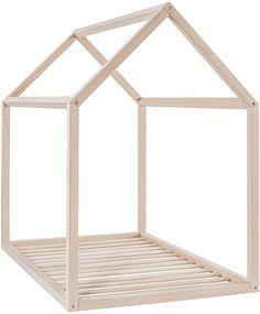 BONNESOEURS® Beech Wood House Bed