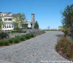 granite cobblestone driveway - Google Search
