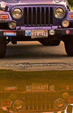 Jeep reflection