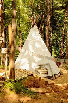 I wonder if my HOA would be ok with a backyard teepee?
