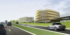 Eco Architecture of P&R Hooggelegen by KCAP and JHK Architects