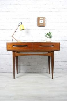Vintage G-Plan console table.
