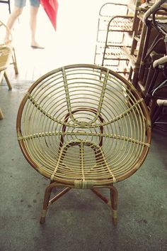 Rattan Chair   Chun Mee Lee