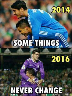 Morata & Cristiano