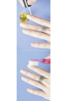 When it comes to beauty, it's all about the tips and tricks that help make your routine more efficient. Here, 12 beauty hacks that use a toothbrush for every hair and makeup need you may have. Click through to see the full how-to's.