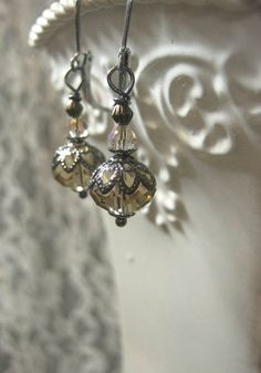 Downton Abbey Jewelry  Isobel Crawley  Dainty by BohemeBijou, $15.00