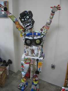 trash monster, but I think this could be great even if less scary for an exploration of recycling/trash, etc.