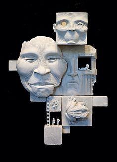 Mat Dubé Sculpture Page - New contemporary, pop surrealism, outsider,Street Art, Graffiti Style