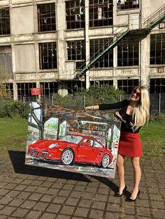 Tanja Stadnic Porsche Acrylic Art | LinkedIn