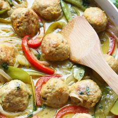 VIDEO: Green Curry Sweet Potato Chicken Meatballs  Healthy Glow Guide Flash Sale!