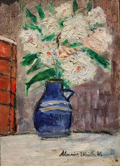 Maurice Utrillo (1883 - 1955) Vase of Flowers