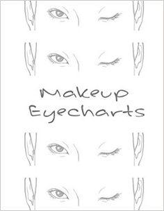 Makeup EyeCharts: Barbara: Emma Walkerson: 9781544953502: Amazon.com: Books
