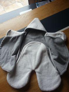 """Kallounette ouverte , très pratique pour bébé vers 3, 4 mois ... tiré du site """"les moutons de Kallou"""""""