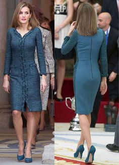 tell queen letizia   come to USA al slap your ass anytime   leave chump husband there!  dying of laughter!