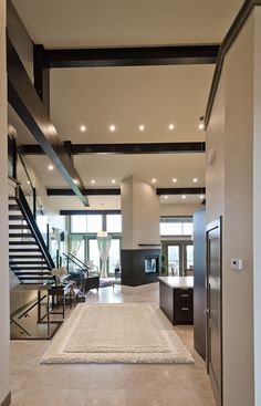 Recessed lighting is very versatile, it blends into any décor giving style and great lighting. Lighting Solutions, Downlights, Your Style, New Homes, Carpet, Traditional, Interior Design, Table, Room