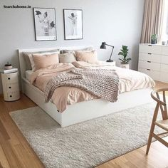 Bedroom Decor For Teen Girls, Cute Bedroom Ideas, Room Ideas Bedroom, Home Decor Bedroom, Girl Bedrooms, Girls Bedroom Ideas Teenagers, Teenage Girl Bedroom Designs, Ikea Bedroom, Bedroom Inspo