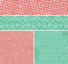 Crate Paper Christmas.  Love the mint and red combo. The Scrap Review - Scrapbook Product Reviews