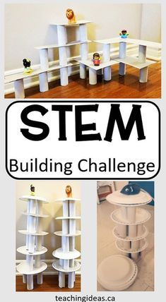 Looking for exciting STEM activities for elementary. This no prep, inexpensive STEM challenge is perfect for young kids for home or school. Kids will love building and learning as they create. #STEM #stembuilding Science Activities For Kids, Stem Science, Preschool Science, Stem Activities, Kindergarten Activities, Science Projects, Science Lessons, Science Experiments, Creative Teaching