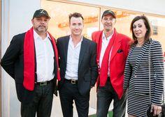 Joe Scionti, Chris Leavitt, Tarek Kirschen and Vee Paris