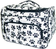 Paw Print Travel Tote for Professional Grooming Tools by Wahl Professional Animal,$24.95