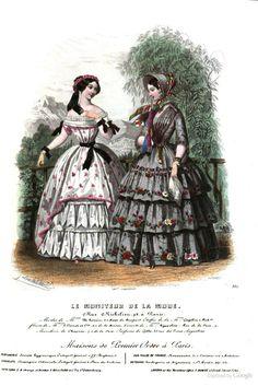 Le Moniteur de la mode, 1851, changed link