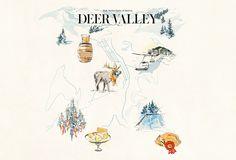 Deer Valley, Utah: Snow Chic via http://www.vogue.fr