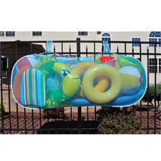 Pool Pouch - We've needed this at Mama's pool for sooo many years now. I can't tell you how many floats we've lost to the dog or wind!