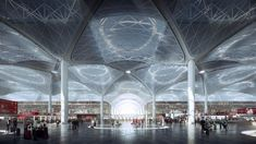 Gallery of Details Emerge on World's Largest Airport Terminal in Istanbul - 2