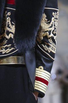 Balmain Homme Menswear Fall Winter 2015 Paris